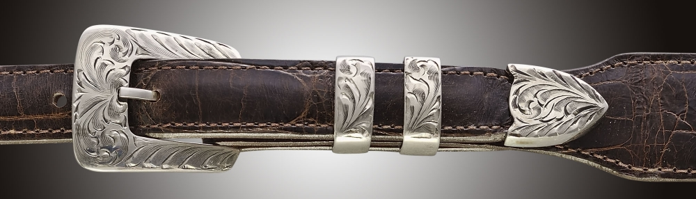 A18, Arrow Floral Engraved, ¾