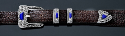 Gila Fine with Lapis Inlay